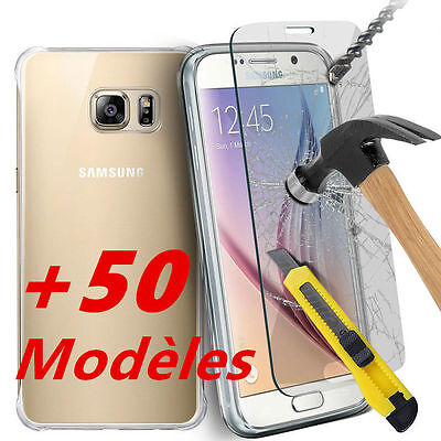 FILM VERRE TREMPE Vitre protection iPhone,Samsung,Sony,Huawei,Asus,Wiko,LG,HTC