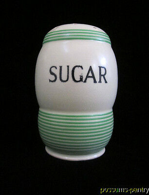 ART DECO 1930s TG GREEN CHURCH GRESLEY STREAMLINE SUGAR SHAKER