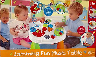 New - Activity Table With Removable Musical Toys - Hours Of Fun