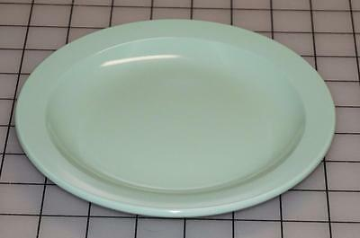 "Vintage Lot Of 6 Mid Century Boonton Ware Mint Green snack plates 7"" by 7"""