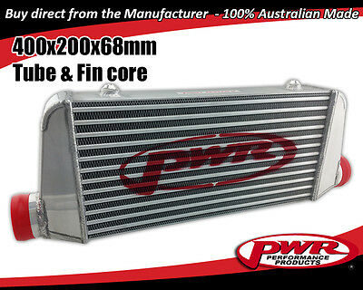 "PWR Universal Aero2 Intercooler 400 x 200 x 68mm core with 2.5"" Outlets PWI5427"