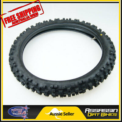 Kenda 17 Inch 70/100-17 17'' Front Knobby Tyre Tire Tube Pit Trail Dirt Bike