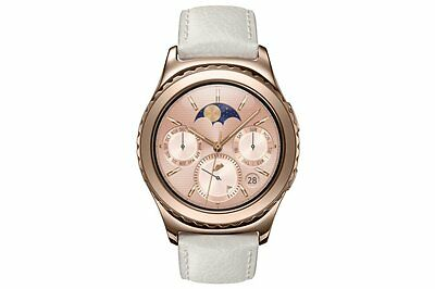 Samsung Gear S2 Classic ROSE GOLD 18K Gold Plated Smart Watch Bluetooth