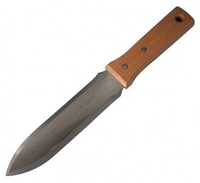 New Nisaku Stainless Steel Leisure Knife Double-Edged Type No.640 From Japan