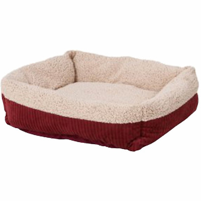 Aspen Pet Self Warming Cat And Dog Bed Spice-Creme 30 X 24 Inch