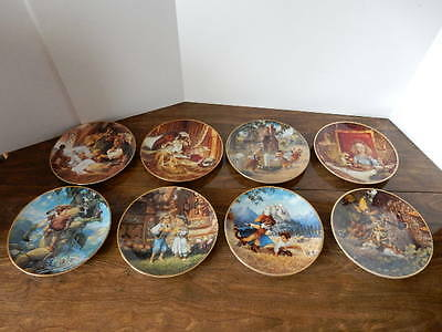 Knowles Classic Fairy Tales Collector Plates, Set of 8