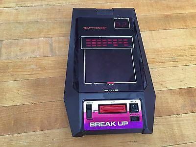 Vintage Break Up Electronic Handheld Game by TOMY TomyTronics Tested & Working