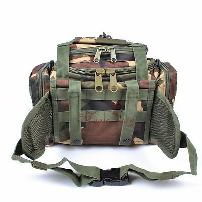 Climbing Hunting Hiking Tactical Storage Bag Tote Waist Shoulder Waterproof