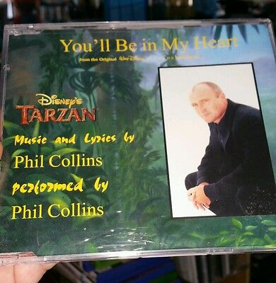 Phil Collins - You'll Be in My Heart MUSIC CD SINGLE - FREE POST