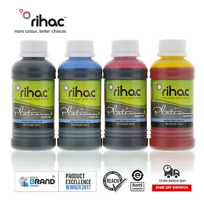 RIHAC Refill ink for CISS suits Epson 200 200XL cartridge XP-400 XP-200 XP-100