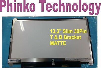 "NEW HB133WX1 -402 V3.0 13.3"" Slim 30pin Screen MATTE N133BGE-EAB WITHOUT Touch"