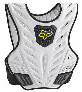 Fox Racing Titan Sport Subframe/Chest Protector Black/Silver L/XL 06071-464-038