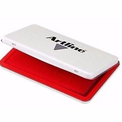 Artline EHJ-3 Stamp Pad #1 Red 67 x 106mm 12202