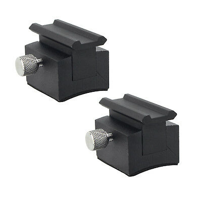 2pcs Fully Metal Quick Release Mounting Base for Red Dot Finder Finderscope