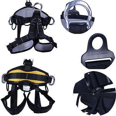 Strong Sport  Seat Safety Belt Climbing Harness Body Guide Bust Rock Rappelling