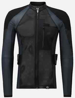 Knox Armour Defender Elite Shirt CE Approved Level 2 Back Armour - 2017
