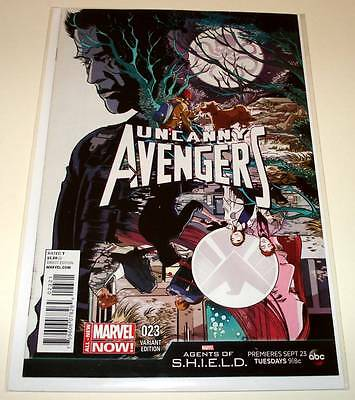 UNCANNY AVENGERS # 23 Marvel Comic  2014  NM   1:10 AGENTS OF SHIELD VARIANT