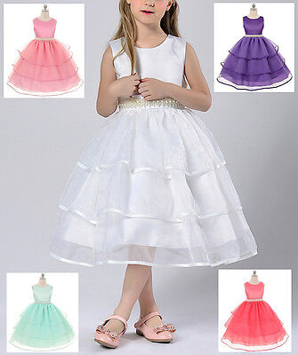 Vestito Cerimonia Compleanno Bambina - Girl Party Dress 2-13 anni years CDR032