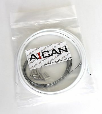 Red Aican Bike bicycle Shift Derailleur Road cable housing set kit vs Jagwire