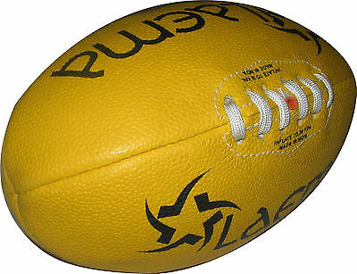 New High Abrasion Australian Rules Ball Junior Afl - 2 - Reduced To Clear