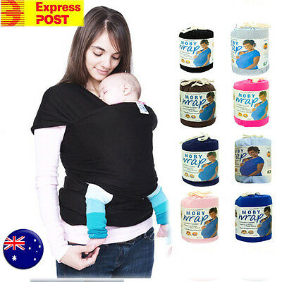 MOBY wrap Cotton Sling Baby Carrier Newborn 8 Colors