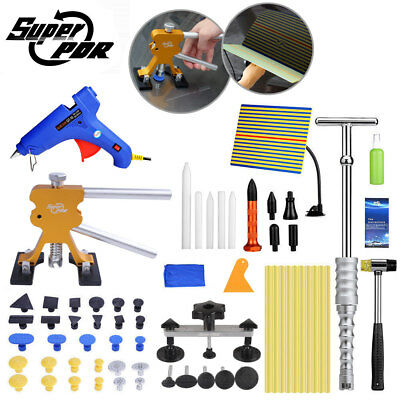 PDR Paintless Dent Removal Dent Lifter Line Board Hail Repair Removal Tools Set