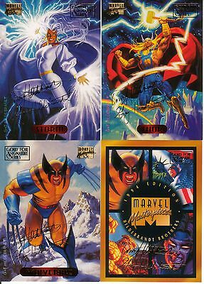 Gold Foil Signature Series - 1994 Marvel Masterpieces Card Set!