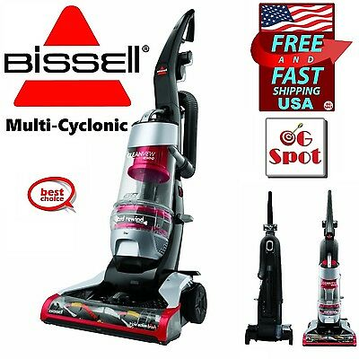 Multi-Cyclonic Bagless Upright Vacuum Cleaner Hardwood Carpet Tile Pet Hair ,NEW
