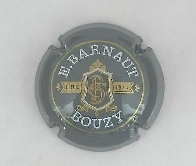 capsule champagne BARNAUT E. n°2 gris lettres blanches