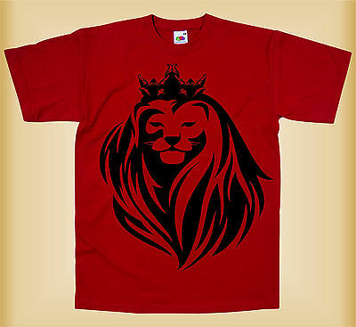 Camiseta para niños - QUEEN LION  - AWESOME SUMMER GREAT KIDS T-SHIRT