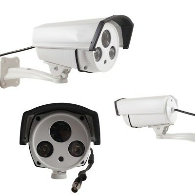 Telecamera Videosorveglianza Hd Ccd Sony 6 Mm 700 Tvl 2 Led Array Ir Yf 8002