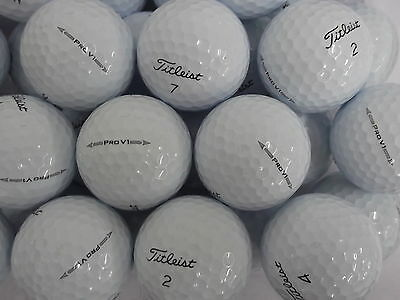 "12 Titleist Pro V1 ""2016 Model"" / New Model  Golf Balls Pearl / Grade A Free P&p"