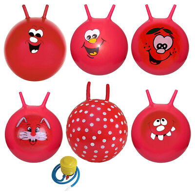 Large Children Kid Space Hopper Jump Bounce Ball Outdoor Fun Toy Boy & Girls