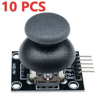 10Pcs 5Pin JoyStick Breakout Module Shield PS2 Joystick Game Controller