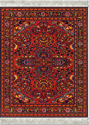 Mouserug Mouse Pad Scarlet Lillian Oreintal Rug Persian Rugs New Mouse Pads