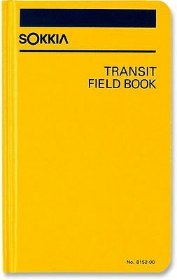 New Sokkia Transit Field Book 815200