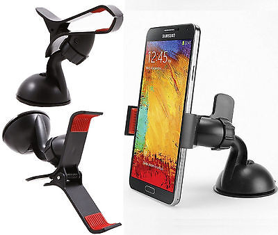 Windshield Dashboard Car Mount Cell Phone Holder for Samsung Galaxy S7 S8  Edge