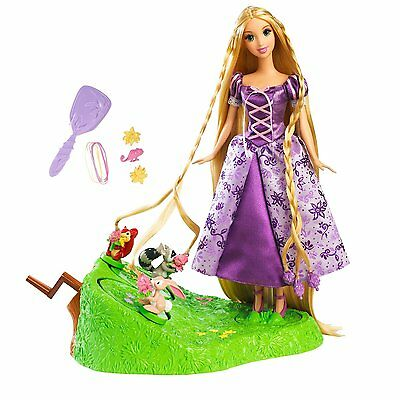 Barbie As Rapuzel In Tangled Braiding Friends Hair Braider New