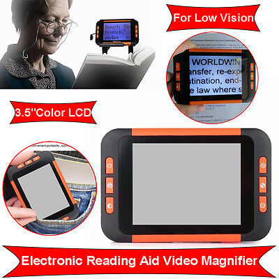"3.5""Digital Handheld Portable Magnifier Electronic Reading with Multiple Color"