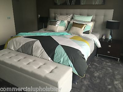 Somerset Upholstered Bedhead / King Size Bed Heads / Australian Made Head Boards