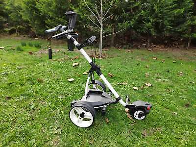 2017 Quokka S3pro lithium battery electric motorised golf buggy trolley cart
