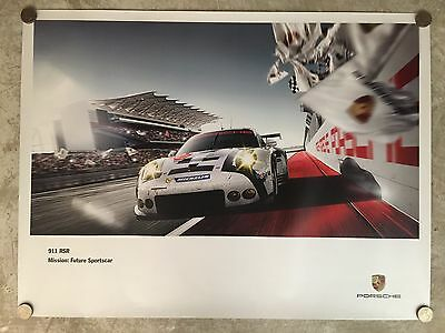 2015 Porsche 911 RSR Coupe Showroom Advertising Sales Poster!! RARE Awesome L@@K