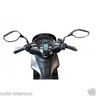 Support de guidon moto scooter vélo pour telephone Iphone 3 & 4