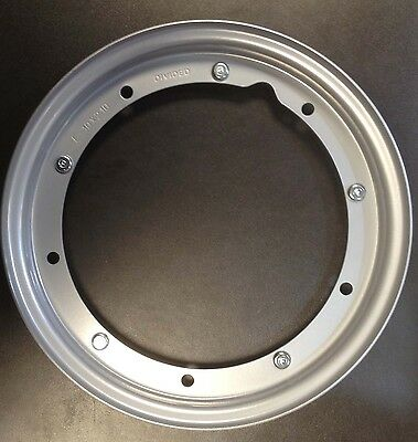 "Wheel rim 10"" split painted grey for Vespa by F.A. Italia"