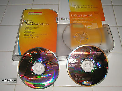 Microsoft Office 2007 Small Business Edition Upgrade MS SBE =NEW RETAIL BOX=