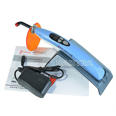 Dental Curing Light Woodpecker Lamp Wireless Cordless LED.D 3 Modes