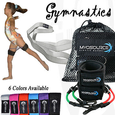 Kinetic Bands Gymnastics Strength Flexibility Resistance Bands Sports & Fitness