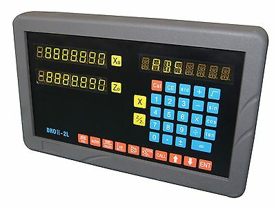 2-axis digital readout for lathe applications (complete DRO kit!)