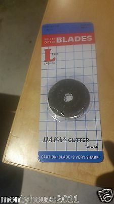 "New!!1 x DAFA ROTARY CUTTER ""REPLACEMENT"" BLADE ROUND 45MM"