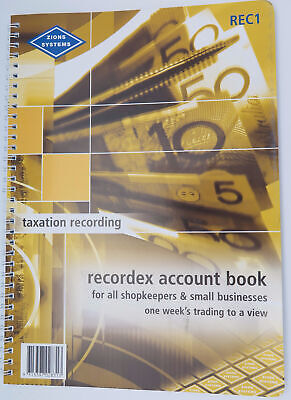 Zions Recordex  Account Book 297 x 210mm REC1